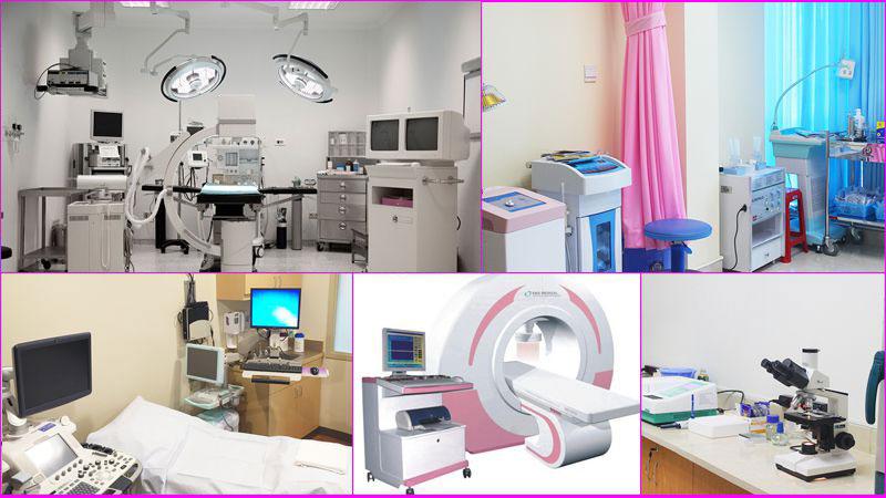 Trang thiết bị tại phòng khám