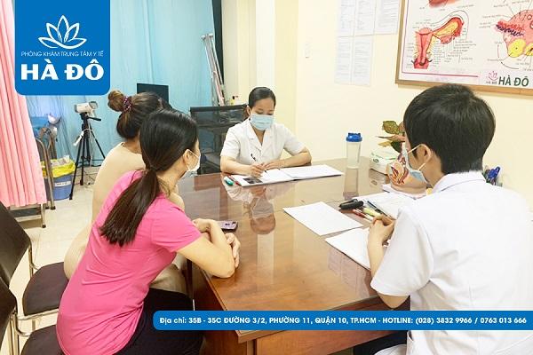 Quy trình hỗ trợ khám chữa bệnh tại Phòng Khám Trung Tâm Y Tế Hà Đô 3